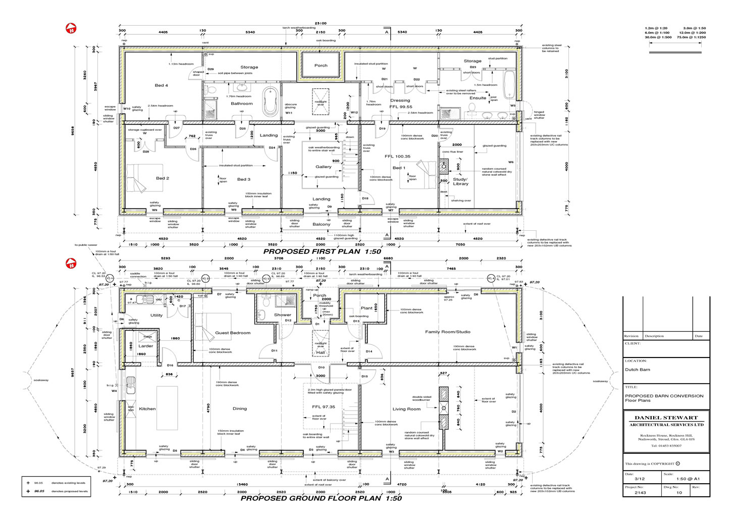 Example plans of recent architectural work How to make a floor plan